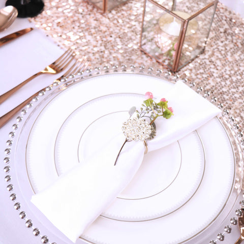 table top decor romantic table setting
