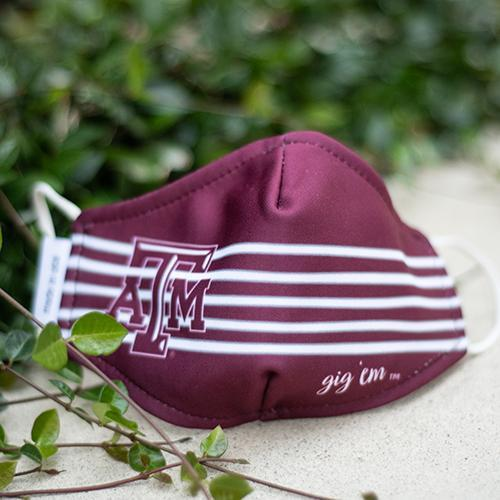 Texas A & M Aggies Licensed Collegiate Face Mask