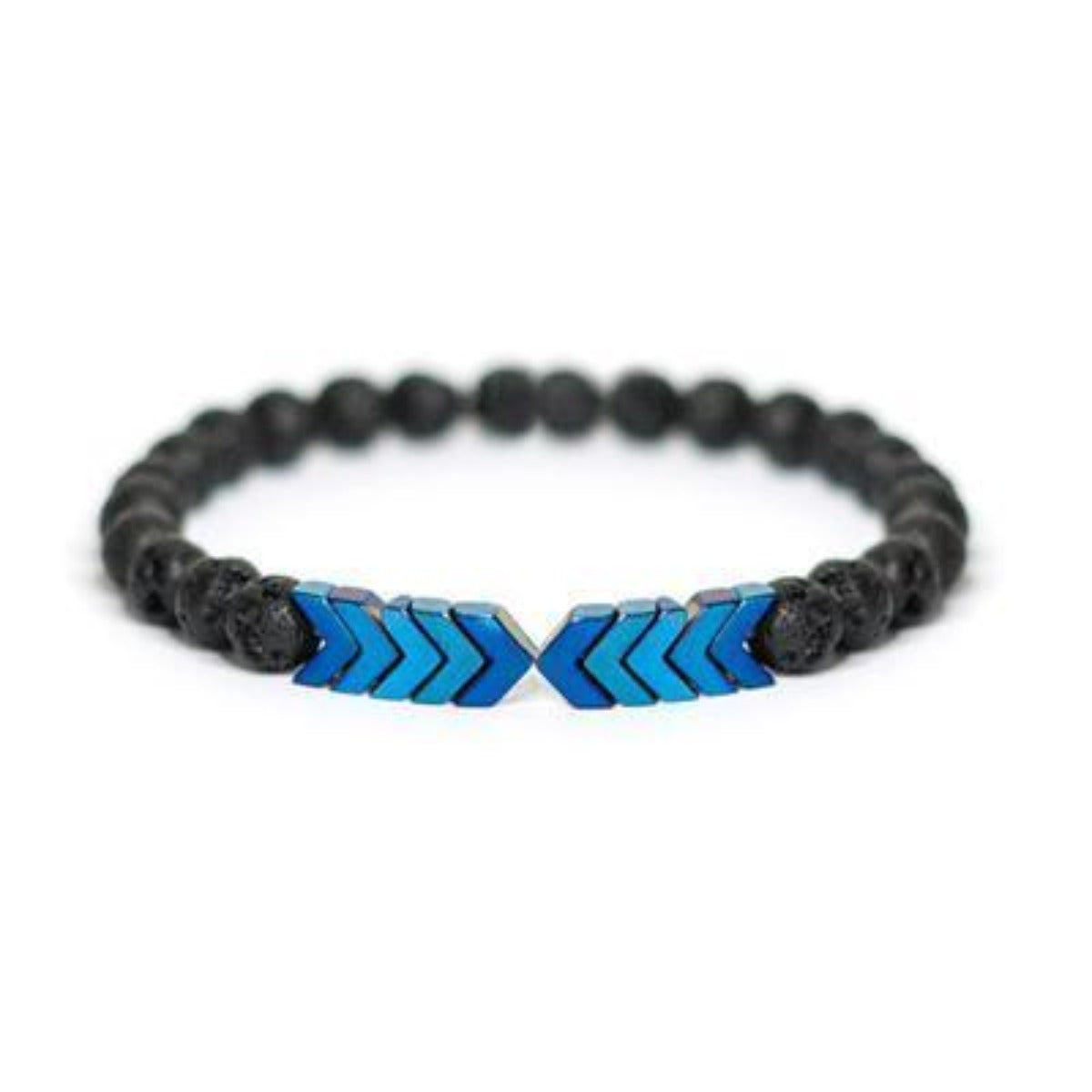 Lava Bead Arrow Bracelets