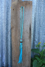 Concho Necklace - Light Turquoise