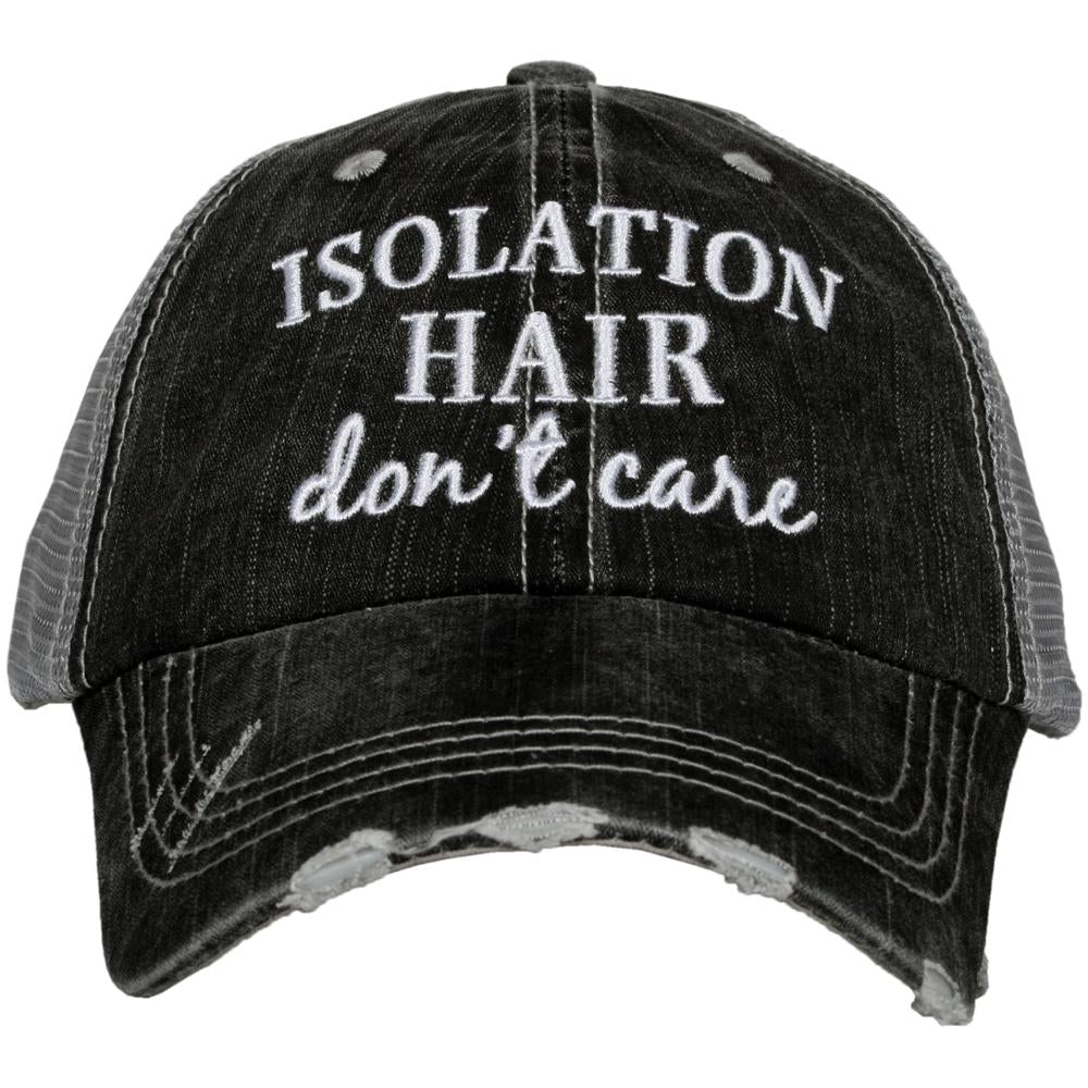 Isolation Hair Don't Care Wholesale Women's Trucker Hat
