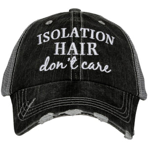 Isolation Hair Don't Care  Women's Trucker Hat