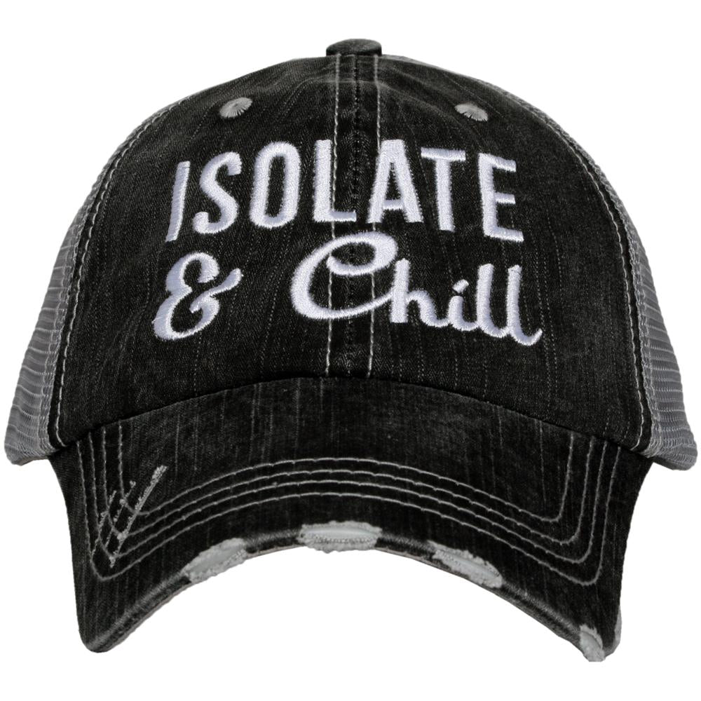 Women's Trucker Hat - Isolate and Chill