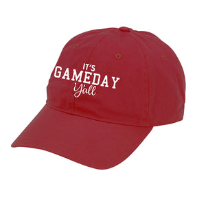 Gameday Y'all Cap - Maroon with White Lettering,Cap - Dirt Road Divas Boutique