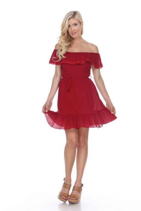 Valentina Dress in Red,Dress - Dirt Road Divas Boutique