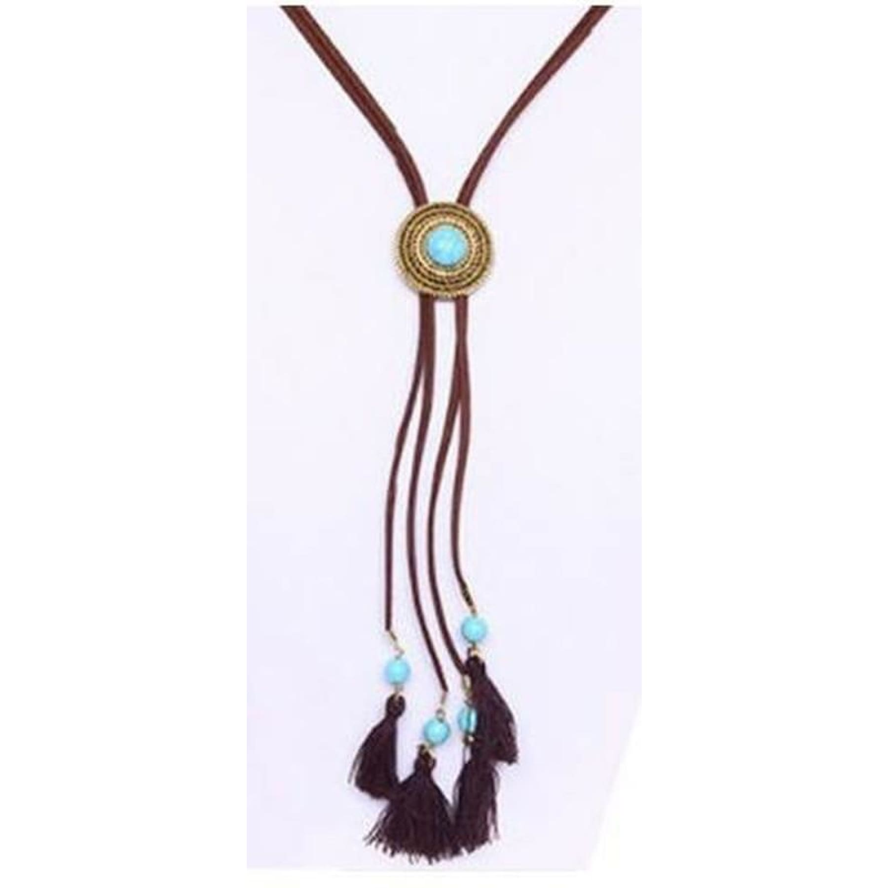 Boho Rodeo  Necklace,Necklace - Dirt Road Divas Boutique