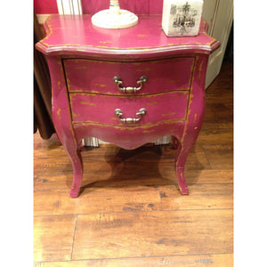 Chest With Two Drawers Magenta,Home decor - Dirt Road Divas Boutique
