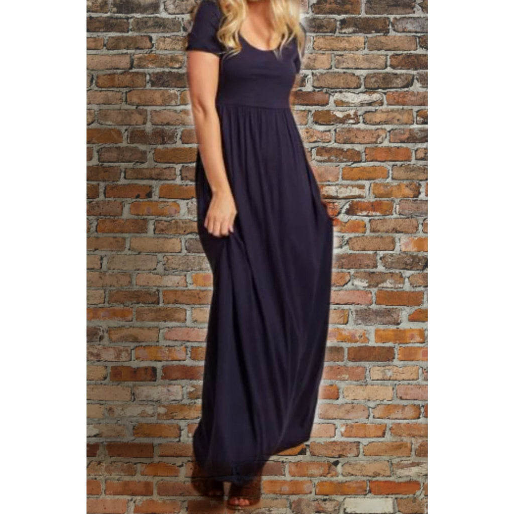 Favorite  Navy Maxi Dress,Dress - Dirt Road Divas Boutique