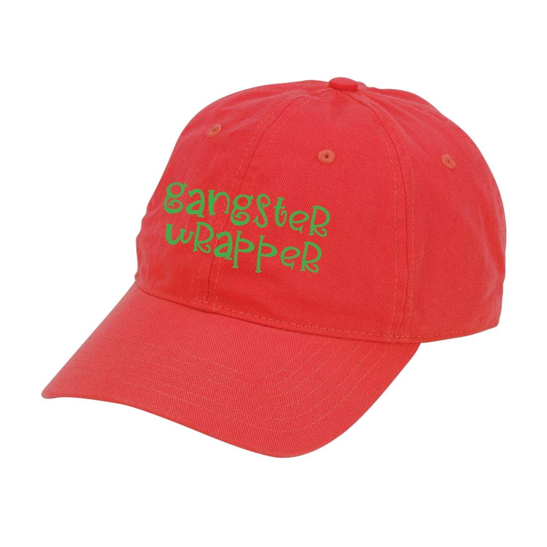 Red Gangster Wrapper Cap