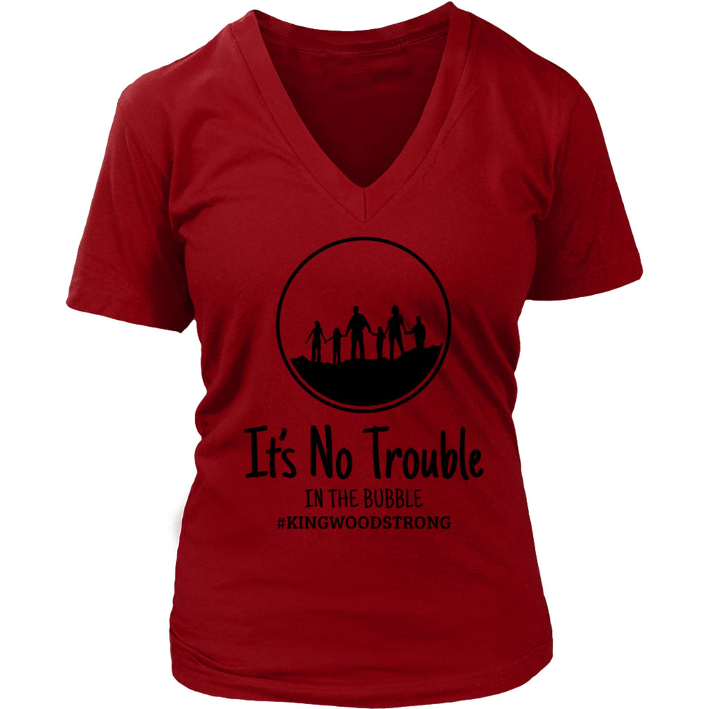 No Trouble in the Bubble ~ Kingwood Tee ~ 2 colors ~ 2 styles,Graphic Tee - Dirt Road Divas Boutique