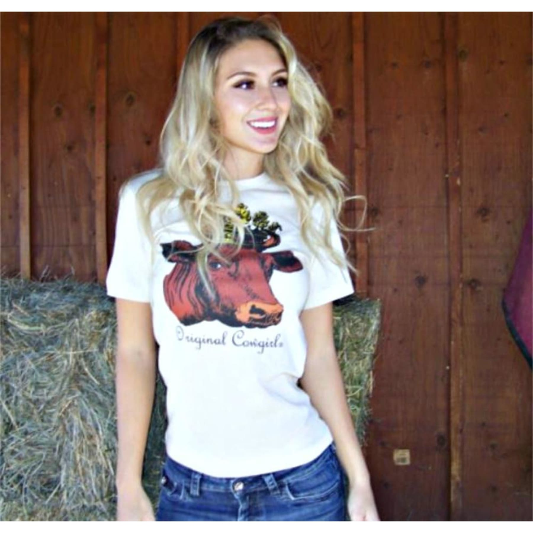 Queen of the Ranch Graphic Tee,Graphic Tee - Dirt Road Divas Boutique