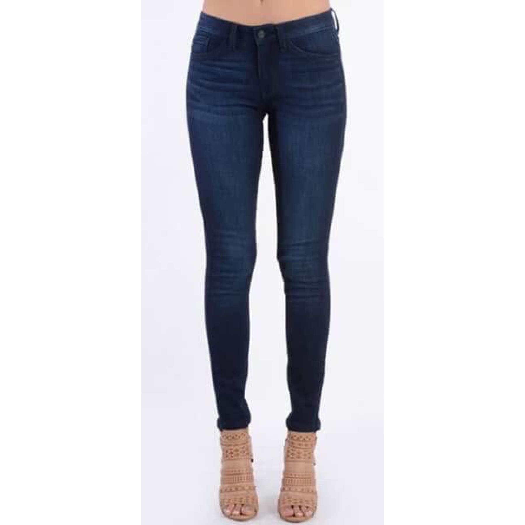 The Perfect Dark Wash Skinny Jeans - 3