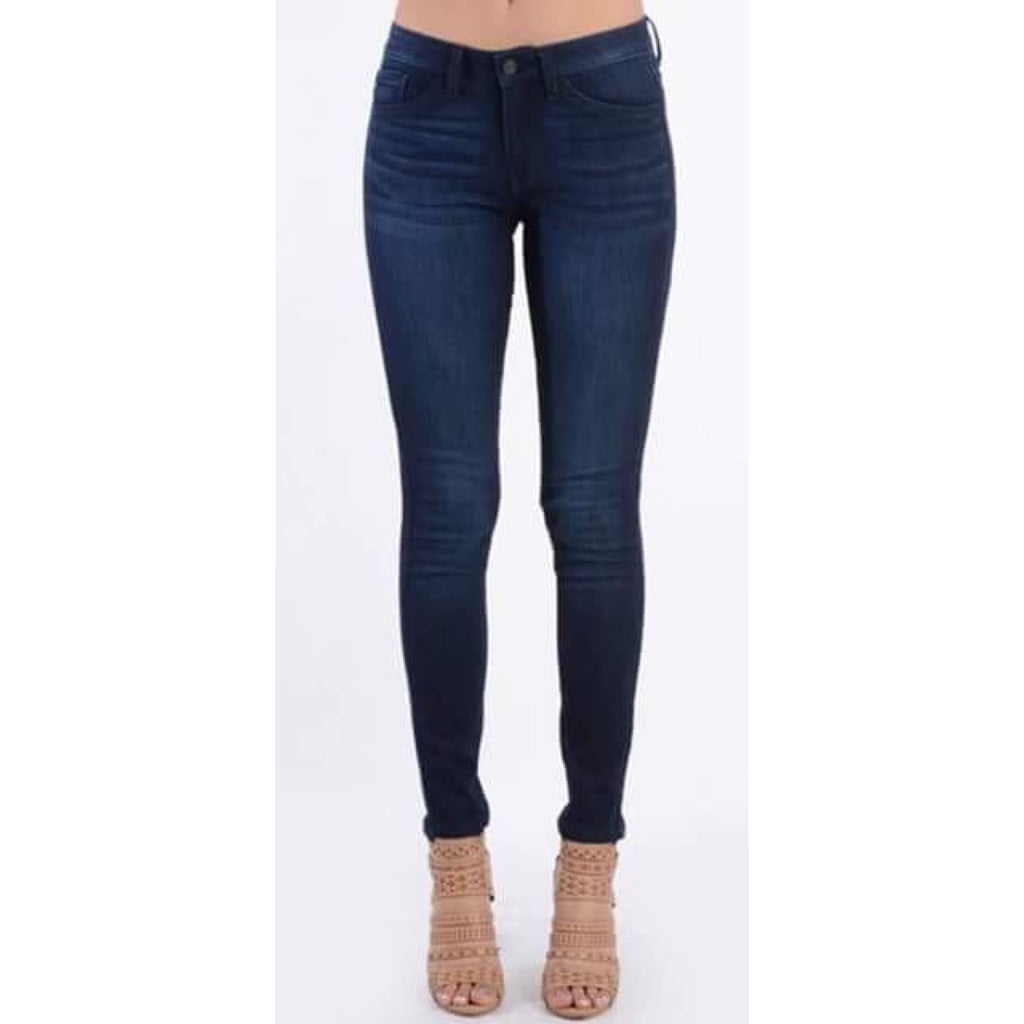 The Perfect Dark Wash Skinny Jeans - 3 - Jeans