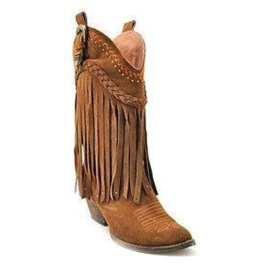 Volatile- Tan Suede Boots,Boots - Dirt Road Divas Boutique