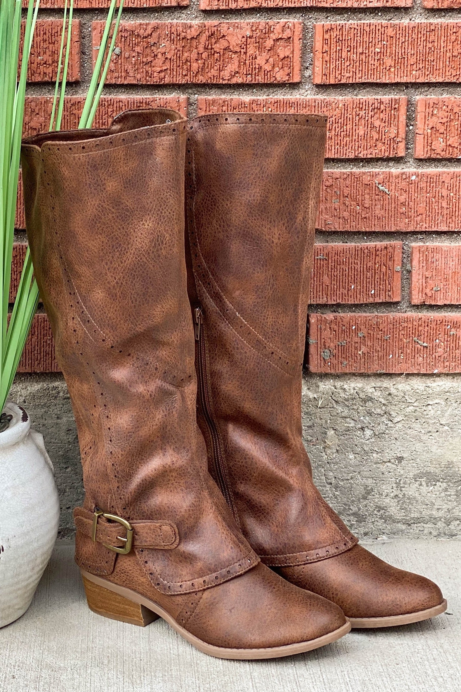 Not Rated Yuriko Boot in Tan