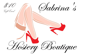 Gift Certificate for Sabrina's Hosiery Boutique
