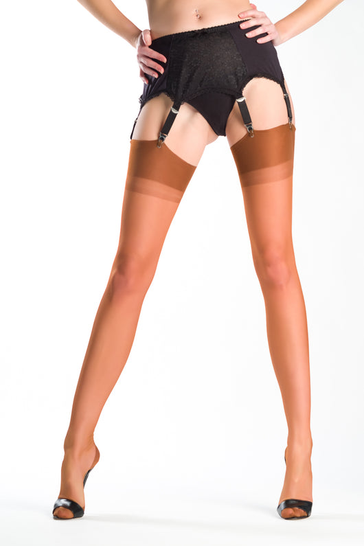 ... Gio Reinforced Heel and Toe Stockings ...