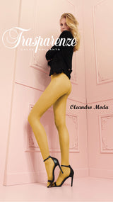 Trasparenze Oleandro Moda Sheer Fashion Colors Pantyhose Size L/XL