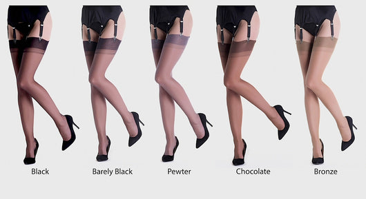 ed0013285 Gio Reinforced Heel and Toe Stockings – S.H.B.
