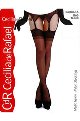 Cecilia de Rafael Barbara Stockings 100% Nylon Stockings #CdR