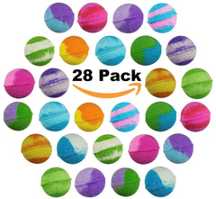 28-pack of Vegan Bath Bombs