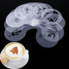 Image of Coffee Barista Art Stencils 16 Pack