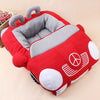 Image of Luxury Sports Car Fluffy Dog Bed