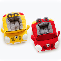 Luxury Sports Car Fluffy Dog Bed