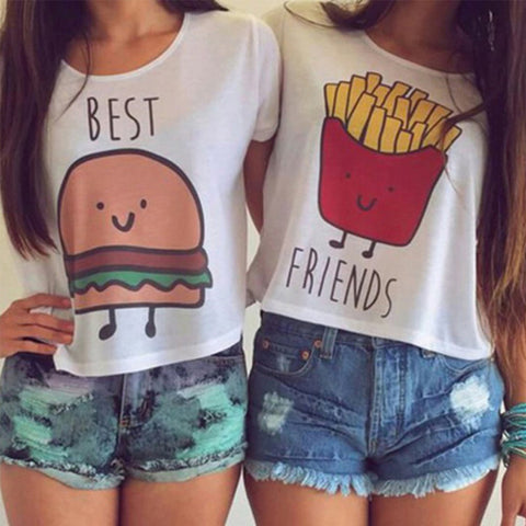 BFF Burger And Fries Shirt