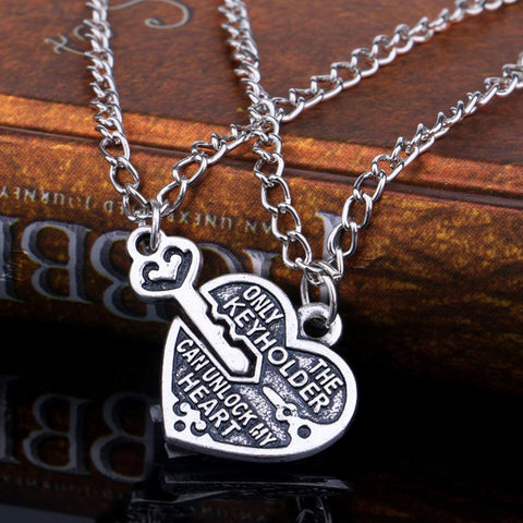 Key To My Heart BFF Necklace