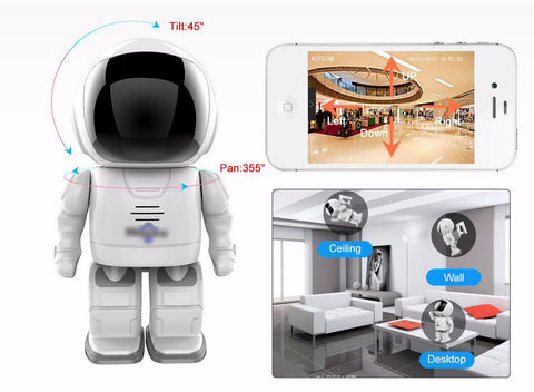 RoboGuard™ Wifi Night Vision Motion Sensored Camera