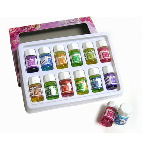 12 Pack Essential Oils
