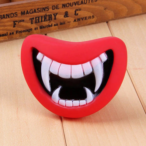 Squeaky Smiling Lips Toy