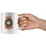Hail Santa Candy Cane summonings mug 11oz.