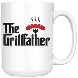 The GrillFather mug 15oz.