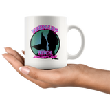 Mermaid? Bitch I might be! mug 11oz. mug-Drinkware-Unlawful Threads