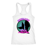Mermaid? Bitch I might be! Women's shirts and tanks all colors-T-shirt-Unlawful Threads