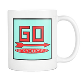 GO Monopoly mug 11oz.-Drinkware-Unlawful Threads