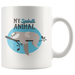 Sloth is my Spirit Animal mug 11oz.