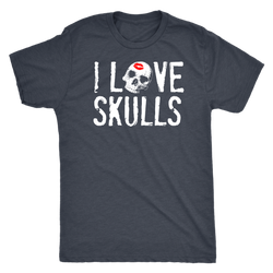 I Love Skulls Official shirt mens womens and tanks available all colors