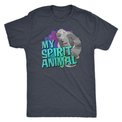 Manatee is My Spirit Animal shirt mens/womens styles