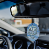 Skulls and Butterflies air fresheners 3-pack.
