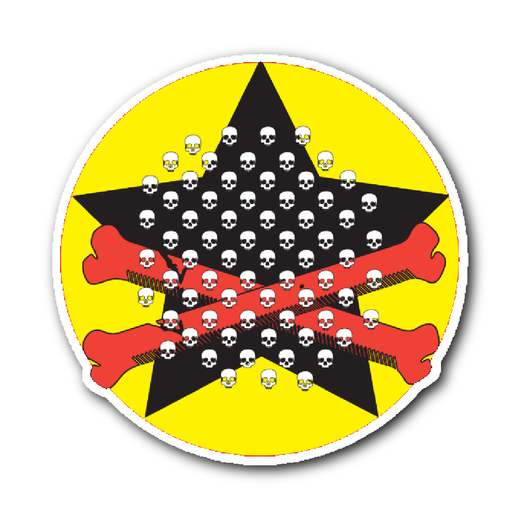 Skull Star Sticker!