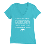 Mama House of Messy, Mother of Dragons shirt reg and v-neck xoxo