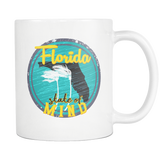 Florida State of Mind Sub Tropical mug 11oz.-Drinkware-Unlawful Threads