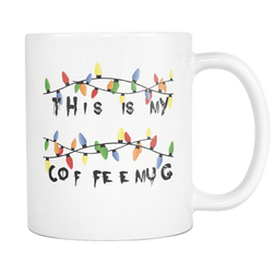 Stranger Coffee Mug Things 11 oz.-Drinkware-Unlawful Threads
