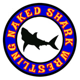 NAKED SHARK WRESTLING shirt/tank/men/women Next level brand soooooofft.-T-shirt-Unlawful Threads