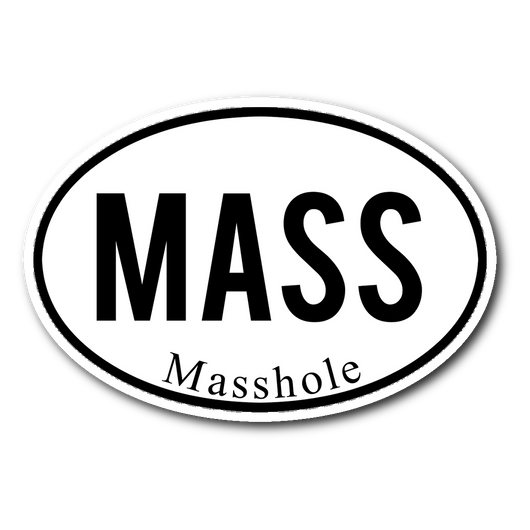 MASS Masshole sticker 3x4