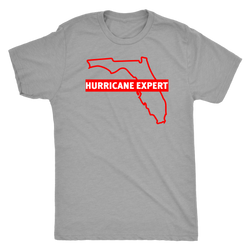 Hurricane Expert Florida style shirt m/w/up to 5xl