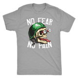 No fear No pain skull shirt m/w